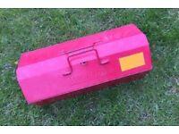Kennedy Vintage Metal Engineers Tool Box Storage Case