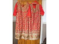 Wedding mendhi outfits.