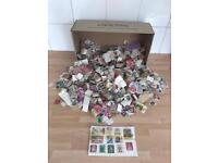 Large collection of stamps from around the world