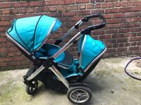Double pram / pushchair