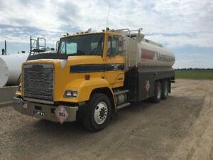 Custom Painted Freightliner Fuel Truck