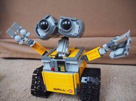 Lego Ideas Disney Pixar Wall-E Wall E 21303 100% Complete With Instructions