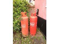 2* 47kg calor propane bottles (full or close to it).