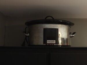 Stainless Steal 8qt Crockpot