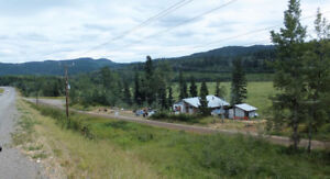 Rustic Dwelling on 90 Acres Hwy 16 Frontage