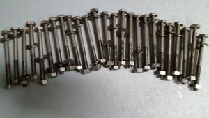 "30 sets of 3/8"" Bolts/Nuts/Washers"