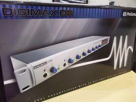 Presonus DIGIMAX D8 Brand New, Un-opened, 8 channel mic pre-amp