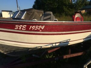 16ft northwood with 30hp honda 4 stroke