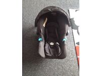 Graco baby car seat from new born.