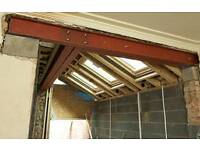 Rsj / steel beam installation