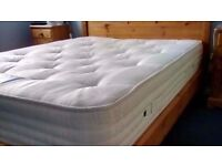 4FT6 DOUBLE ORTHO 2000 POCKET MATTRESS AS NEW CONDITION