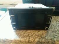 Volkswagen touchscreen radio
