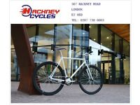 Brand new single speed fixed gear fixie bike/ road bike/ bicycles + 1year warranty & free service e1