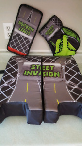 Street hockey gear!!!!