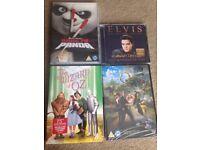 Cd/DVDs New