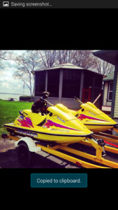 Matching 1996 xp seadoos with trailer