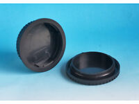 JOB LOT OF LENS END AND BODY END CAPS FOR CANON EQUIPMENT