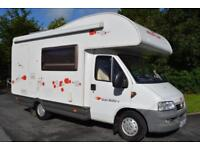 2004 AUTO ROLLER 4 BERTH MOTORHOME FOR SALE