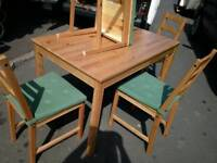 Ikea table &4 chairs new £65