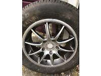 Titanium wheels 16 inch 5x120 pcd