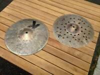 Custom dry fx cymbals