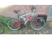 Gents Apollo FS/26 Front and Rear suspension Mountain bike, 26""