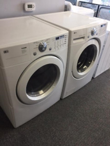 "LG 27"" FRONTLOAD WASHER AND DRYER SET"
