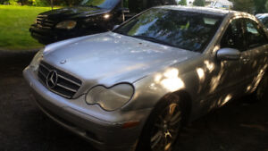 Reduced -2003 Mercedes-Benz  C320 4-Matic  with Black Leather