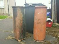 Extra large chimney pots