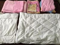 Baby girl bedding bundle 90x120 + 40x60