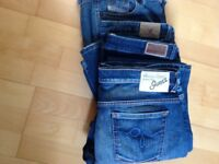4 pairs of Ladies jeans size 12, good quality and condition