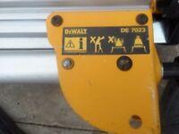 DEWALT DE7023 Universal Mitre Saw Leg Stand For DW717 DW718 DW777 ++