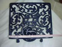 CAST IRON COOKERY BOOK STAND