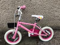 Up to 5 years girls bike