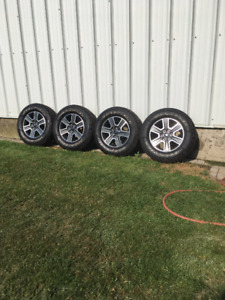 2017 Ford F150 Sport Rims and Tires