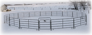 Horse/cattle Gates, Feeders, Round Pen's, Portable horse stalls