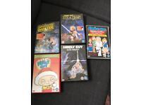 Family Guy Special DVD's