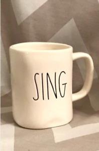 Rae Dunn Sing Mug -new!