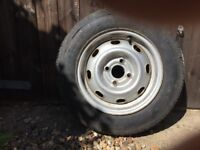 "14"" car wheel with excellent tyre"