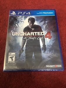 PS4 Games - Uncharted 4 (Sealed) - Arkham Knight