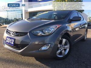 2012 Hyundai Elantra GLS | M/T | ALLOYS | ROOF | BLUETOOTH | ONE