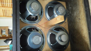 4 Speakers Celestion G12-412MG 30W Prix Débarras !!!