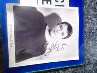 Stephen Gately (ex boyzone who sadly passed) Proffesional Autograph Limited Edition