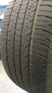 A pair of 265 65 r18 Goodyear tires