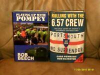 Portsmouth Football Club. Pair of Illustrated Hardbacks.