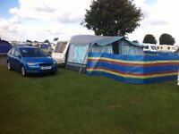 caravan 4 birth with full awning