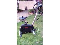 York c530 Exercise Bike with 12 exercise programs and 16 resistance levels