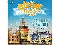 1 X Elrow Ticket for SATURDAY