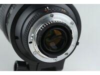 Mint Condition Nikon AF VR-Nikkor 80-400mm f4.5 5.6ED D Lens