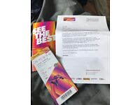 4 tickets for london 2017 games on 6/8/17
